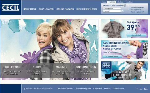 Cecil Online Shop