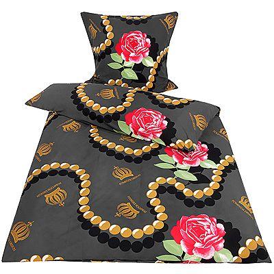 pomp s bettw sche von harald gl ckler online bei qvc kaufen. Black Bedroom Furniture Sets. Home Design Ideas