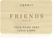 Esprit Friends Card Gold