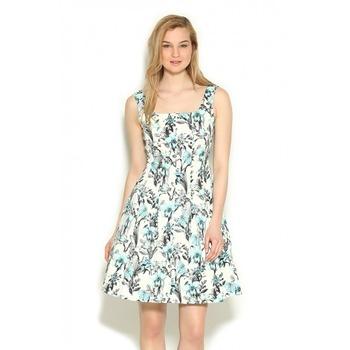 Kleid gelb orsay