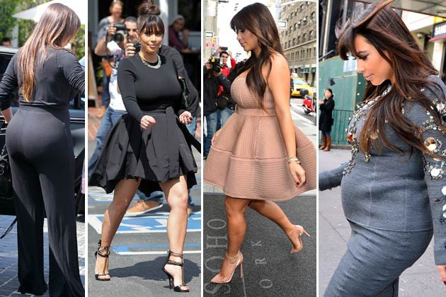 Kim Kardashian Gewicht