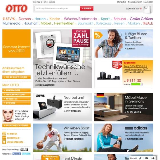 Otto Austria Online Shop