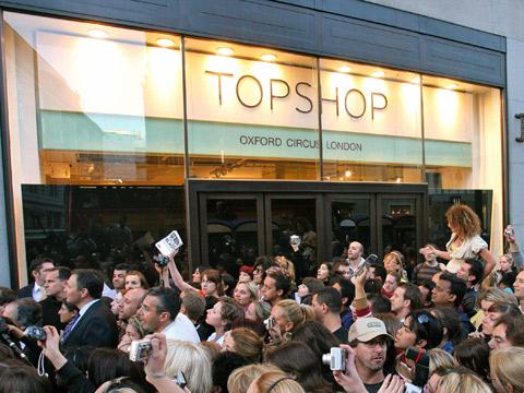 Topshop Deutschland Filiale