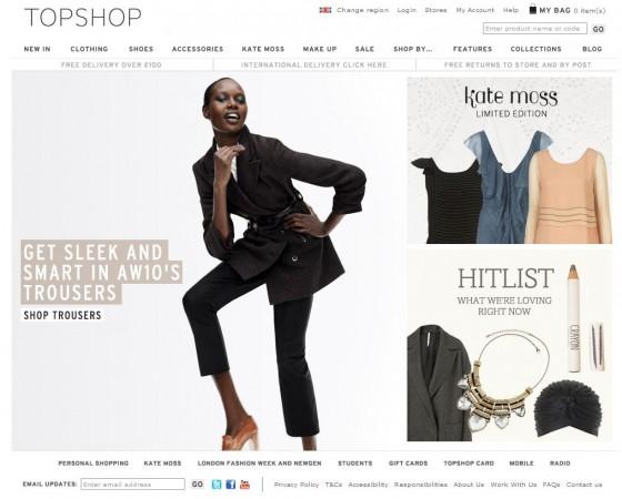 Topshop Deutschland Online Shop